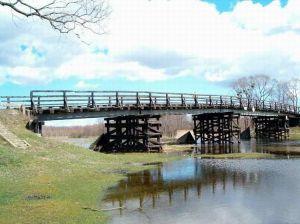 Drewniane mosty na Pisie